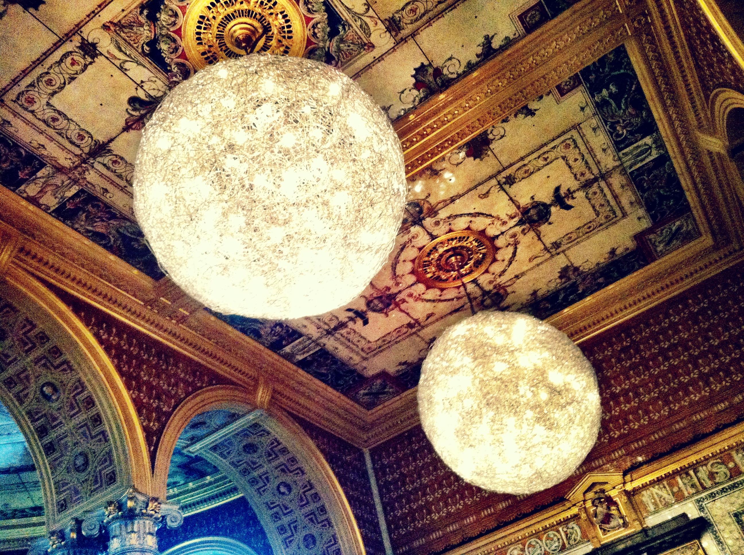 V&A café - the Morris room