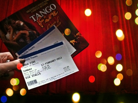 tango Fire - Sadler's Wells at Peacock theatre