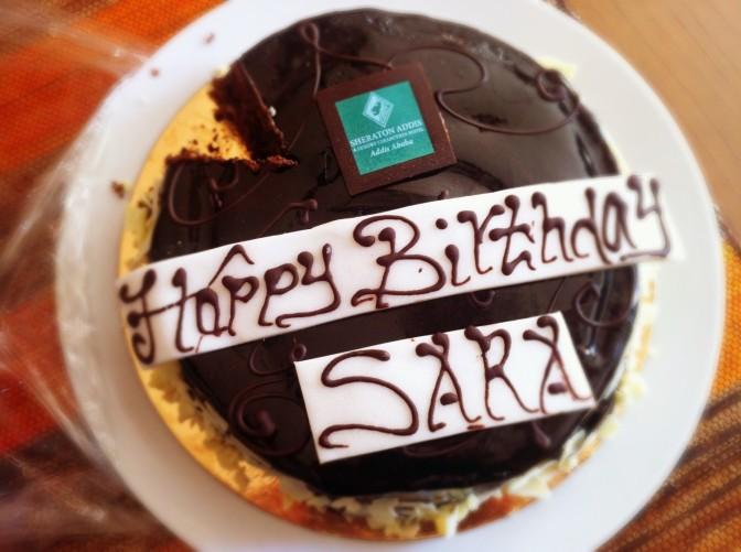 birthday cake - Sara